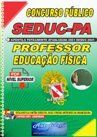 Apostila Digital Concuso Público Seduc-PA 2021 Professor de Educação Física