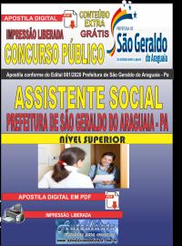 Apostila Digital Concurso Público Prefeitura Municipal de São Geraldo do Araguaia - PA 2020 Assistente Social