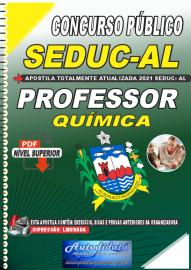 Apostila Digital Concurso SEDUC - AL 2021 Professor de Química