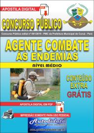 Apostila Digital Concurso Público Prefeitura Municipal de Curuá - Pará 2019 Agente em Combate às Endemias