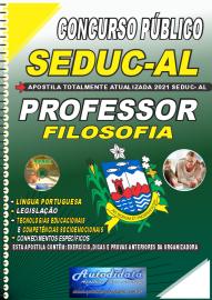 Apostila Impressa Concurso SEDUC - AL 2021 Professor de Filosofia