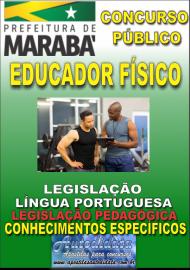 Apostila Digital Concurso MARABÁ - PA 2018 - Educador Físico