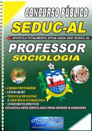 Apostila Impressa Concurso SEDUC - AL 2021 Professor de Sociologia