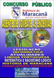 Apostila Impressa Concurso de Maracanã/Pa 2019 – Agente De Combate As Endemias - ACE