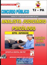 Apostila Digital Concurso TJ-PA 2019 - PSICÓLOGO