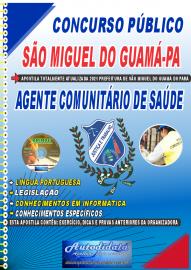 Apostila Impressa Concurso São Miguel do Guamá-PA 2021 Agente Comunitário de Saúde