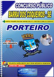 Apostila Digital Concurso Público Prefeitura de Barra dos Coqueiros - SE 2020 Nível Fundamental Porteiro