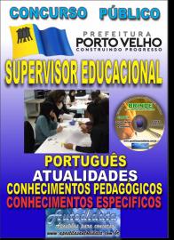 Apostila Impressa Concurso de PORTO VELHO/RO 2019 –Supervisor Educacional