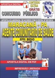 Apostila Digital Concurso de Maracanã/Pa 2019 – Agente Comunitário De Saúde - ACS