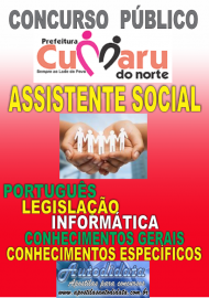 Apostila digital concurso de Cumaru do Norte - PA 2017 - Assistente social