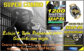 Apostilas Combo digitais SEAP-PA 2021 – POLICIAL PENAL