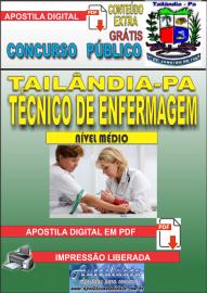 Apostila Digital TAILÂNDIA/PA 2019 - Técnico De Enfermagem
