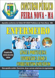 Apostila Impressa Concurso Público Prefeitura de Feira Nova - MA 2020 Área Enfermeiro