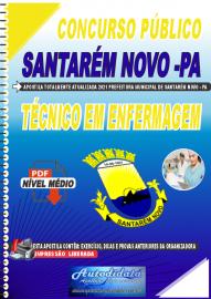 Apostila Digital Concurso Público Prefeitura de Santarém Novo - PA 2021 Técnico em Enfermagem