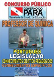 Apostila Digital Concurso SEDUC-PA 2018 - Professor de Química
