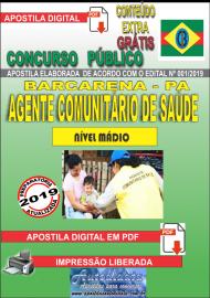 Apostila Digital Concurso PREFEITURA MUNICIPAL DE BARCARENA - PA - 2019 - Agente Comunitário De Saúde - ACS