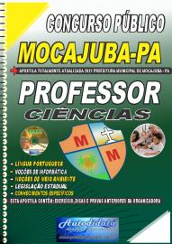 Apostila Impressa Concurso Público Prefeitura de Mocajuba - PA 2021 Professor de Ciências