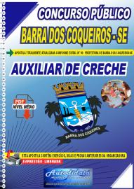 Apostila Digital Concurso Público Prefeitura de Barra dos Coqueiros - SE 2020 Auxiliar de Creche