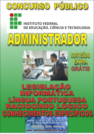Apostila Digital ConcursoINSTITUTO FEDERAL DE EDUCAÇÃO, CIÊNCIA E TECNOLOGIA DO PARÁ - IFPA - PA - 2019 - Administrador