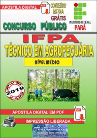 Apostila Digital concurso IFPA 2019 – Técnico Em Agropecuária