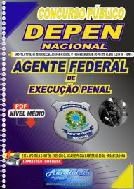 Apostila Digital Concurso Público Departamento PenitencIário Nacional - DEPEN 2020 Agente Federal de Execução Penal