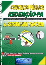 Apostila Digital Concurso Público Prefeitura de Redenção - PA 2020 Assistente Social