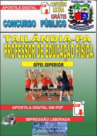 Apostila Digital TAILÂNDIA/PA 2019 - Professor De Educação Física
