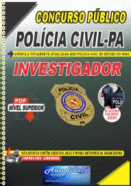 Apostila Digital Concurso POLÍCIA CIVIL - PA 2019 - APOSTILA PREPARATÓRIA ATUALIZADA 2019  - INVESTIGADOR E ESCRIVÃO