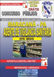 Apostila Digital Concurso de Maracanã/Pa 2019 – Agente De Vigilância Sanitária
