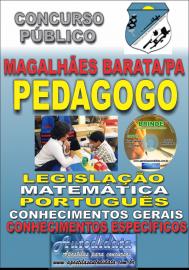 Apostila Impressa Concurso de MAGALHÃES BARATA/PA 2019 – Pedagogo