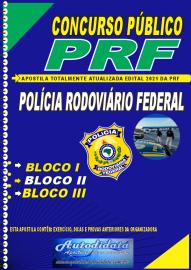 Apostila Impressa Concurso PRF - 2018 - Policial Rodoviário Federal