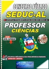 Apostila Digital Concurso SEDUC - AL 2021 Professor de Ciências