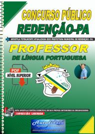 Apostila Digital Concurso Público Prefeitura de Redenção - PA 2020 Professor de Língua Portuguesa