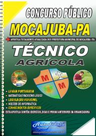 Apostila Impressa Concurso Público Prefeitura de Mocajuba - PA 2021 Técnico Agrícola