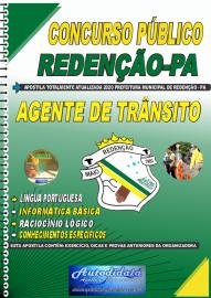 Apostila Impressa Concurso Público Prefeitura de Redenção - PA 2020 Agente Municipal de Trânsito