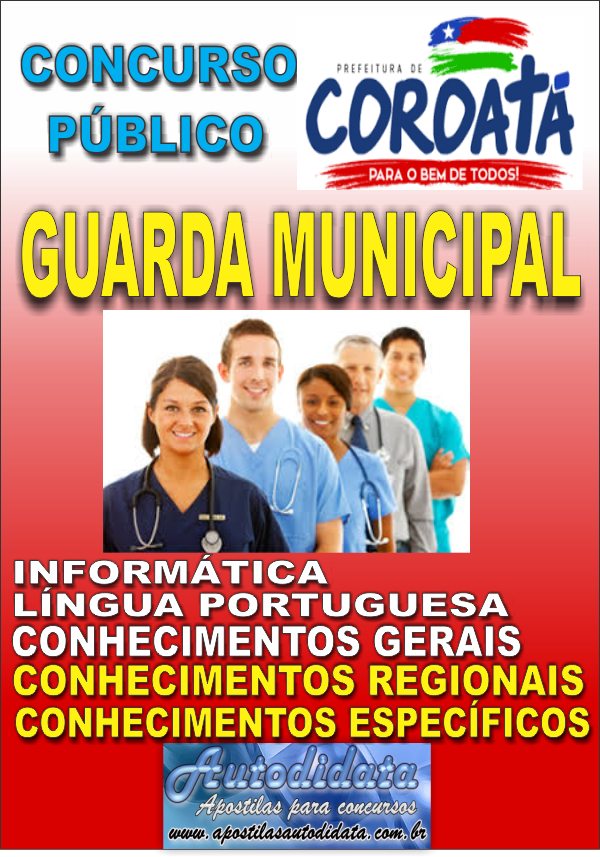 d1b7725cd91b3 Apostila Digital Concurso COROATÁ MA - 2018 - Guarda Municipal