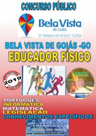 Apostila Impressa Concurso Bela Vista de Goiás - GO  - 2019 - Educador Físico
