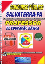 Apostila Digital Concurso Público Prefeitura de Salvaterra - PA  2020 Professor de Educação Básica