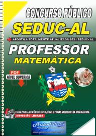 Apostila Digital Concurso SEDUC - AL 2021 Professor de Matemática