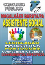 Apostila Impressa Concurso de MAGALHÃES BARATA/PA 2019 – Assistente Social