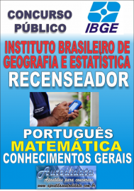 Apostila Digital Concurso do IBGE 2017 - Recenseador