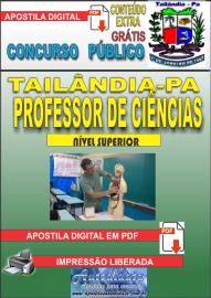 Apostila Digital TAILÂNDIA/PA 2019 - Professor De Ciências