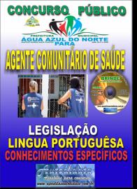 Apostila Impressa Concurso ÁGUA AZUL DO NORTE/PA 2019 - Agente Comunitário De Saúde