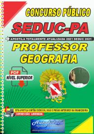 Apostila Digital Concuso Público Seduc-PA 2021 Professor de Geografia