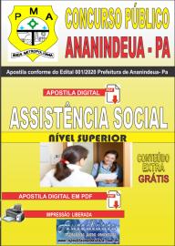 Apostila Digital Concurso Público Prefeitura de Ananindeua - PA 2020 Área Assistência Social