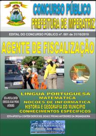 Apostila Impressa Concurso - Prefeitura Municipal de Imperatriz - MA 2019 - Agente de Fiscalização