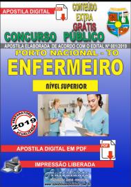 Apostila Digital Concurso da Prefeitura de Porto Nacional - TO – 2019 - Enfermeiro