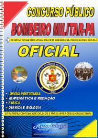 Apostila Impressa Concurso CORPO DE BOMBEIROS-PA - CBM-PA 2021 Oficial