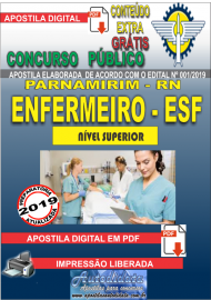 Apostila Digital Concurso PARNAMIRIM – RN/2019 - Enfermeiro ESF