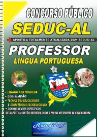 Apostila Impressa Concurso SEDUC - AL 2021 Professor de Língua Portuguesa